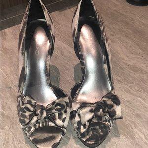 Printed Aldo heels